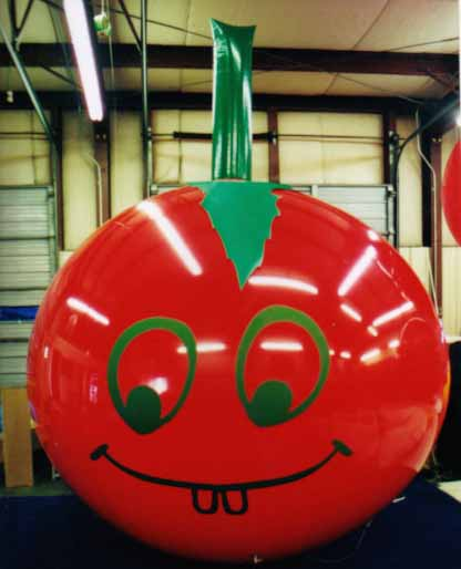 Giant Balloons - tomato shape helium giant balloon